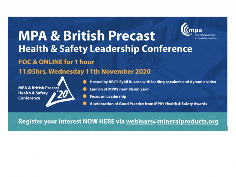 MPA & British Precast Health & Safety Leadership Conference