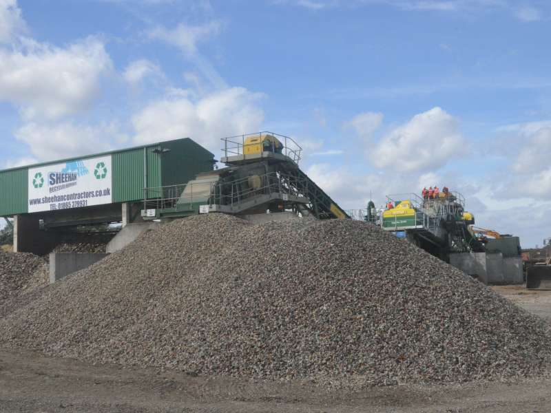 Recycling is key to sustainability in construction