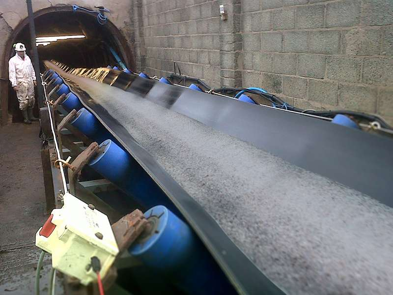 Conveyor fitted with Smiley Monroe's King Rollers
