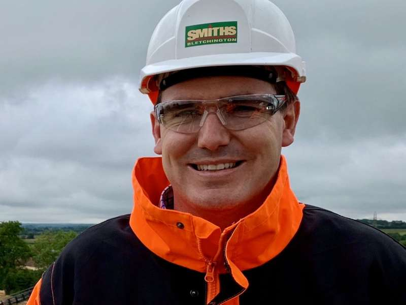 Ben Strickland, Quarry Manager, Smith & Sons (Bletchington)