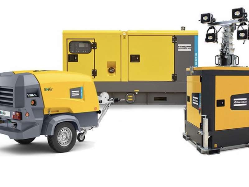 Atlas Copco Stage V compliance machines