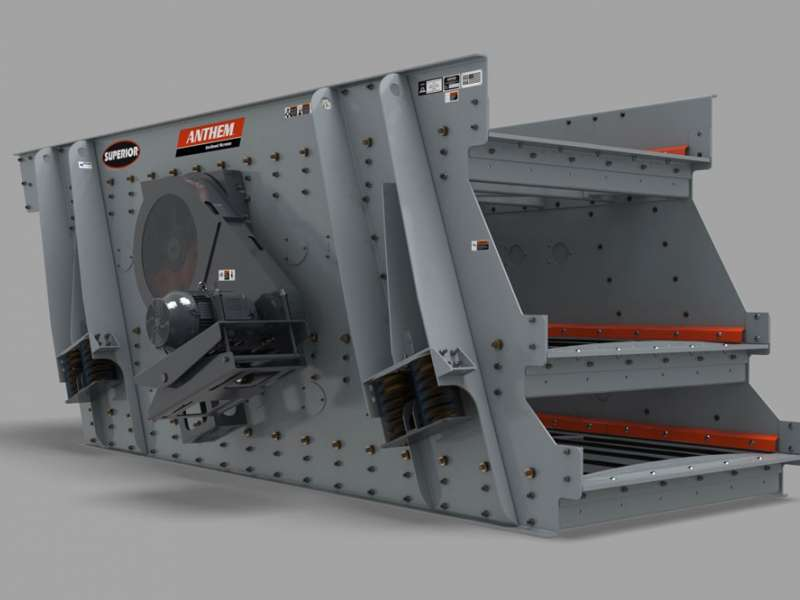 Anthem inclined aggregate screen