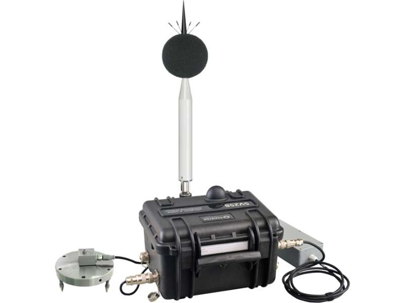 Noise and vibrating monitoring station