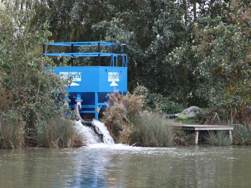 Sykes Pumps launch Silt Away