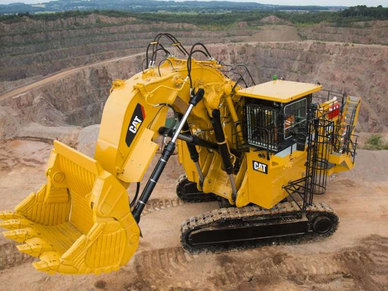 Cat 6030 mining shovel