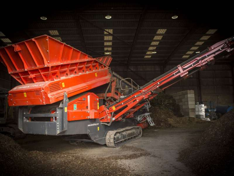 Terex Finlay 873 Spaleck screener