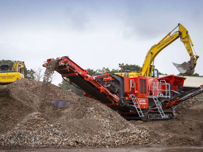 Terex Finlay J-1170 jaw crusher