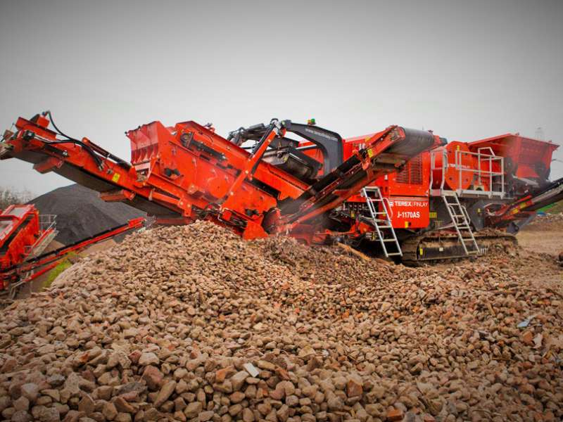 Terex Finlay J-1170AS jaw crusher