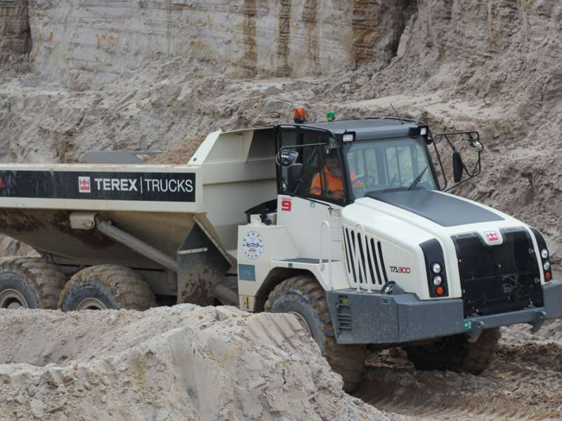 Terex Trucks TA300 articulated dumptruck