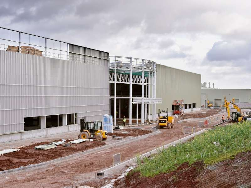 New JCB Cabs factory