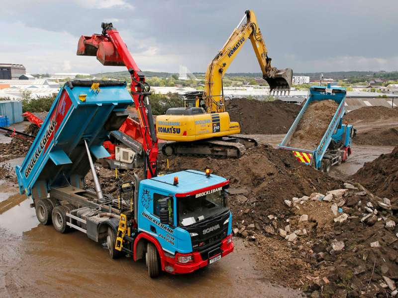 More Thompsons tipper bodies for Brocklebank Demolition