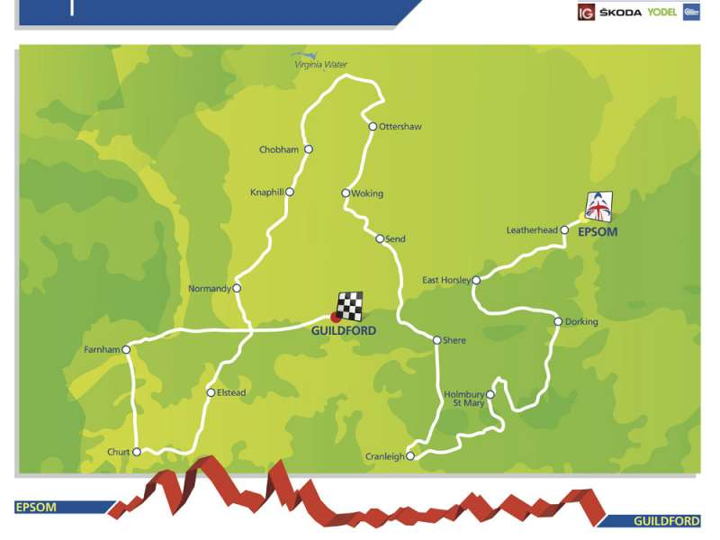 The Tour of Britain stage 7