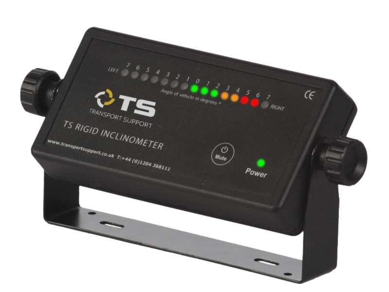 Transport Support's rigid tipper inclinometer
