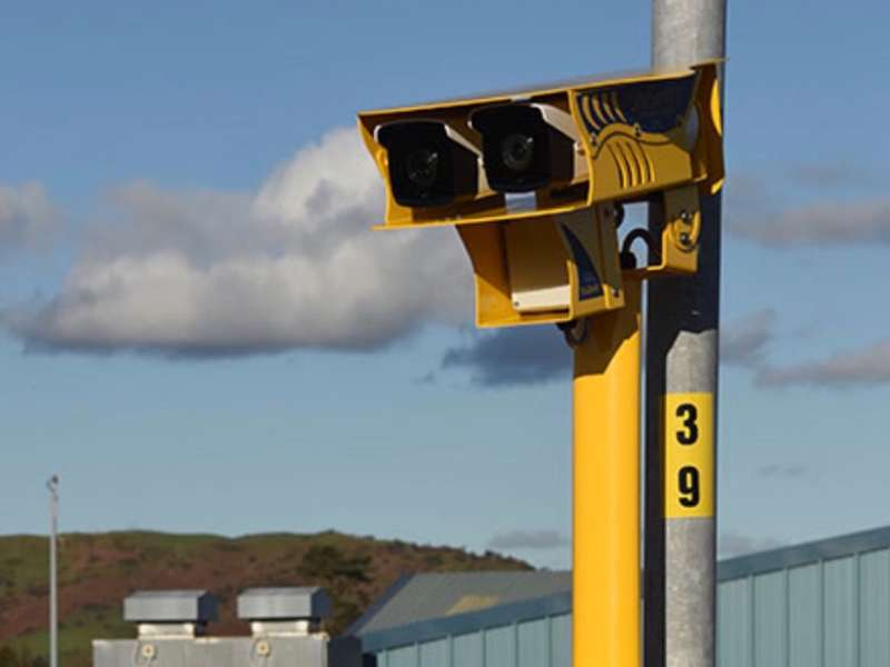 ANPR speed camera