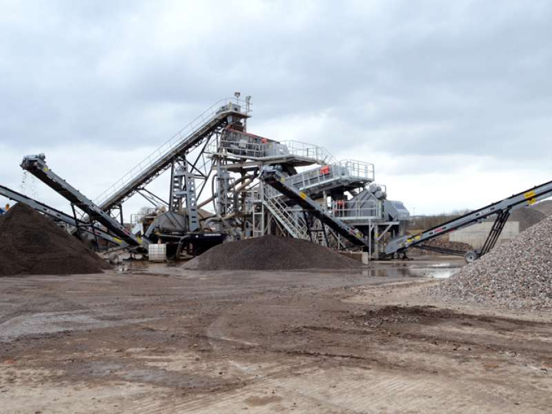 Terex Washing Systems washing plant