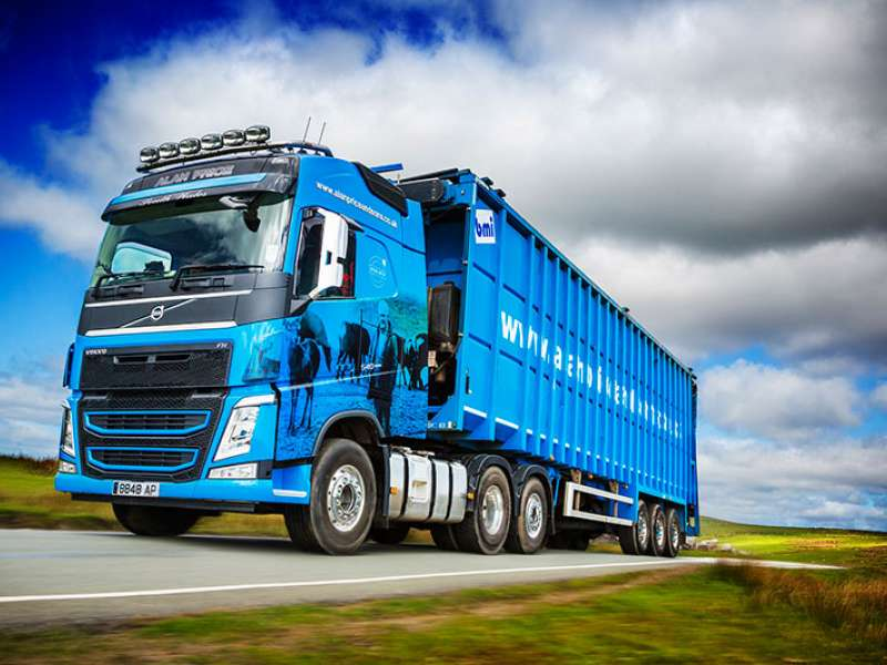 Volvo FH-540 truck