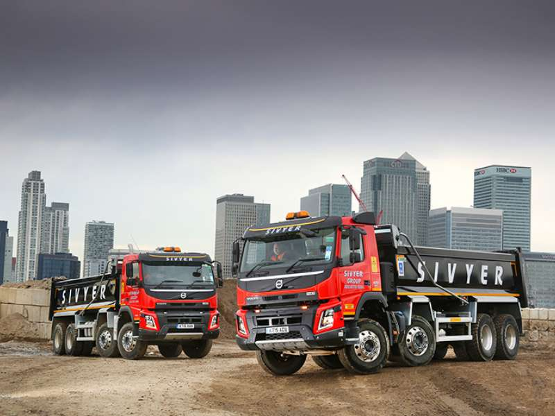 Volvo FMX tippers