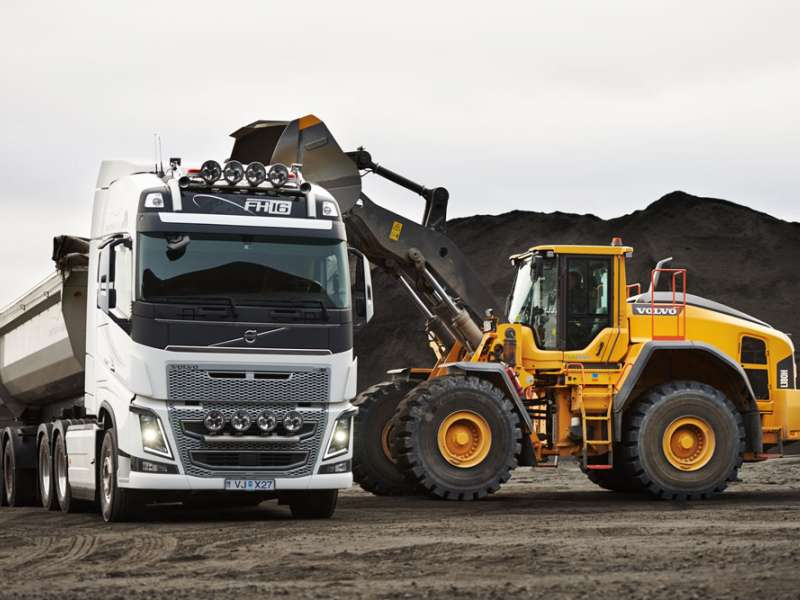 Volvo L180H wheel loader