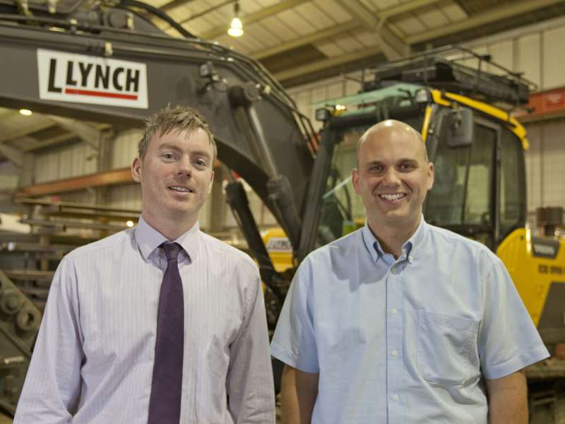 L Lynch Plant Hire purchase 20 Volvo D-series excavators