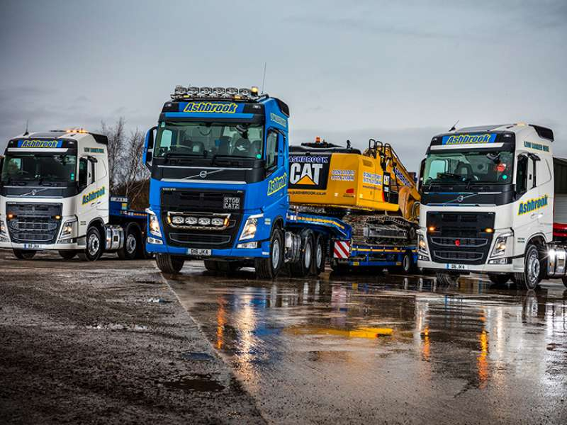 Volvo FH-500 tractor units