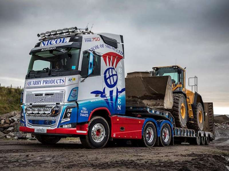 Volvo FH16-750 6x4 heavy haulage tractor unit