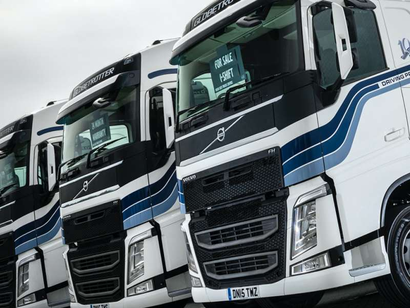 Volvo used trucks