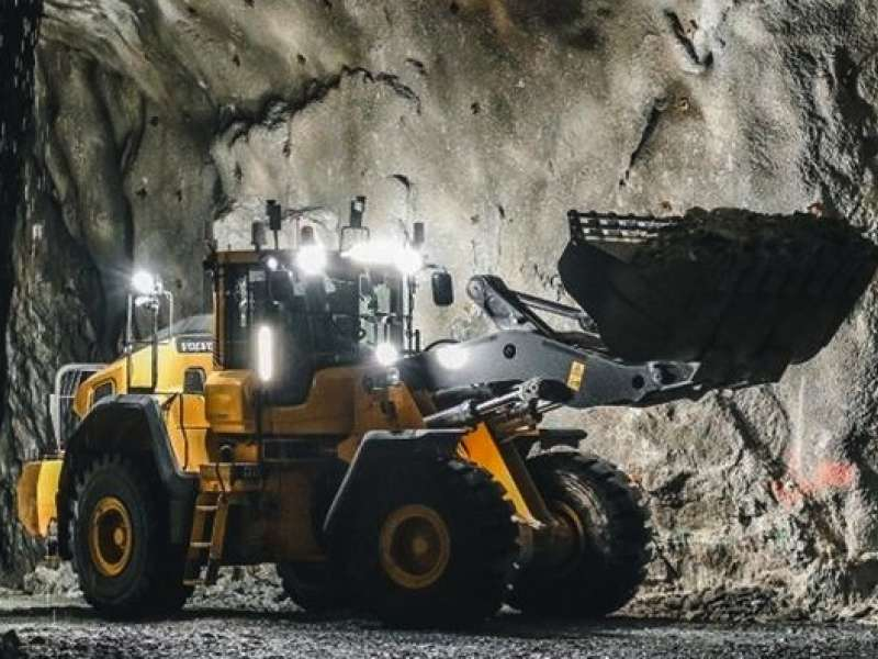Volvo remote-controlled wheel loader