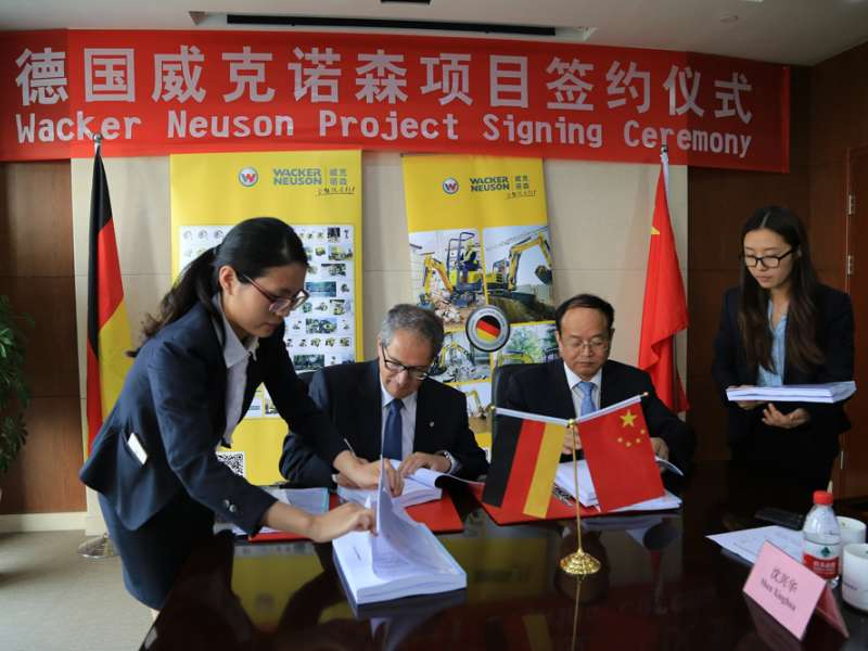 Wacker Neuson to open new factory in China