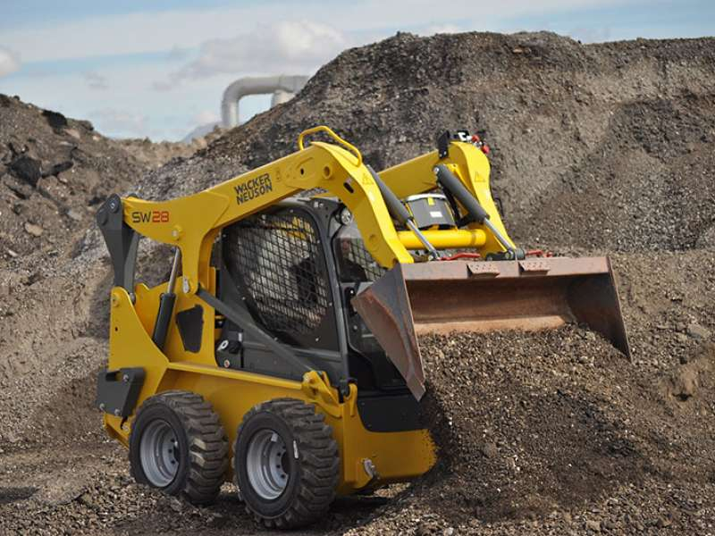 Wacker Neuson skid-steer loader
