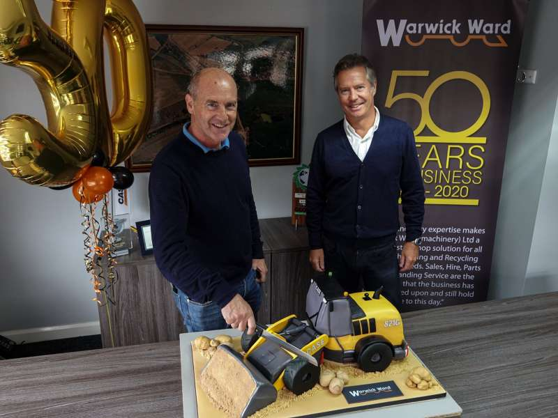 Warwick Ward celebrate their 50th anniversary
