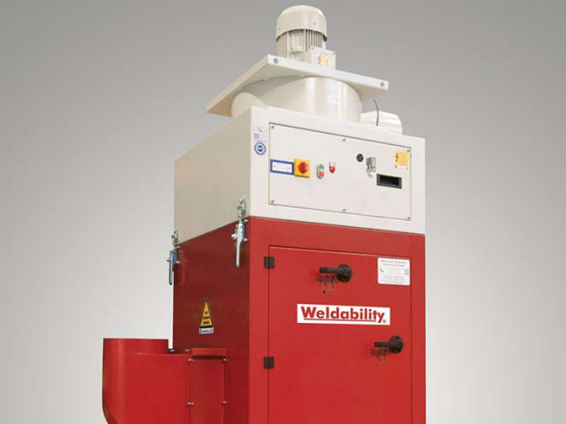 ECO-Cube welding fume filtration system