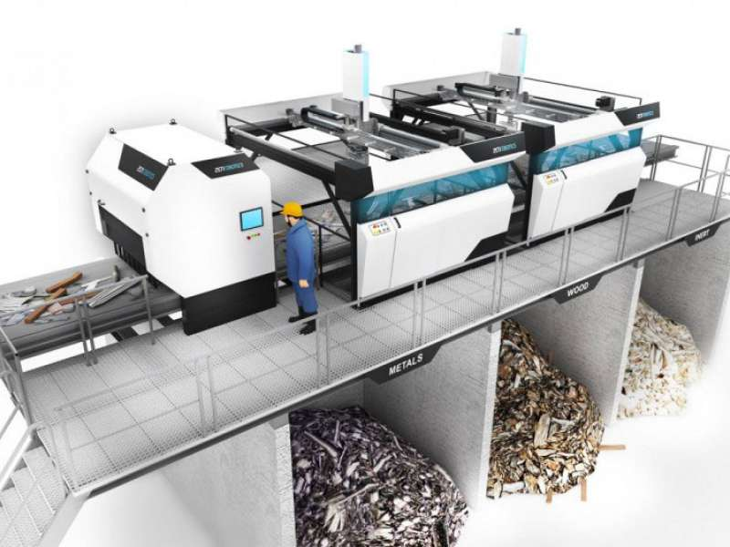 ZenRobotics' robotic waste recycling plant