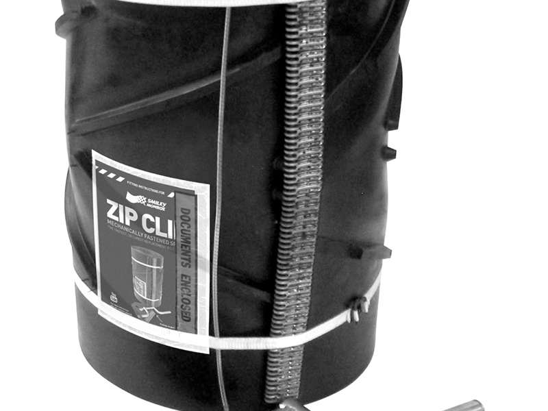 ZipClip replacement conveyor belt system