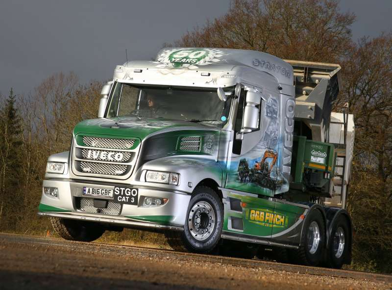 IVECO Strator X-WAY tractor unit
