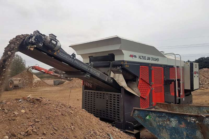 Agg-Pro HL750S jaw crusher