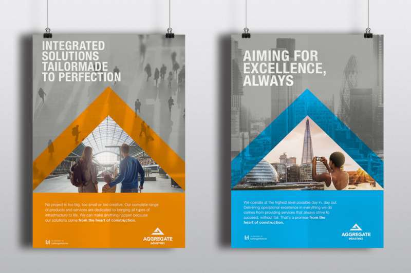 Aggregate Industries branding