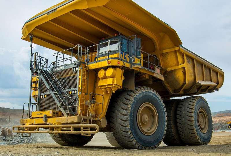 World's largest electrified mining truck