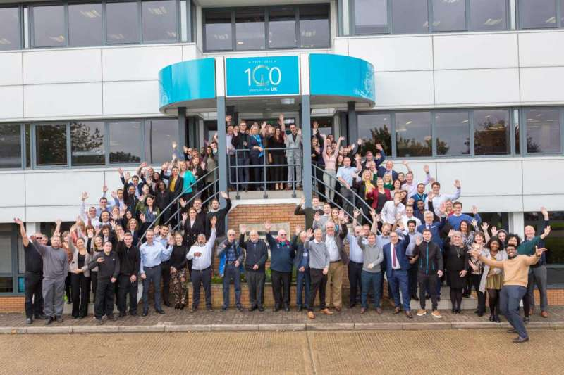 Atlas Copco celebrate 100 years in the UK