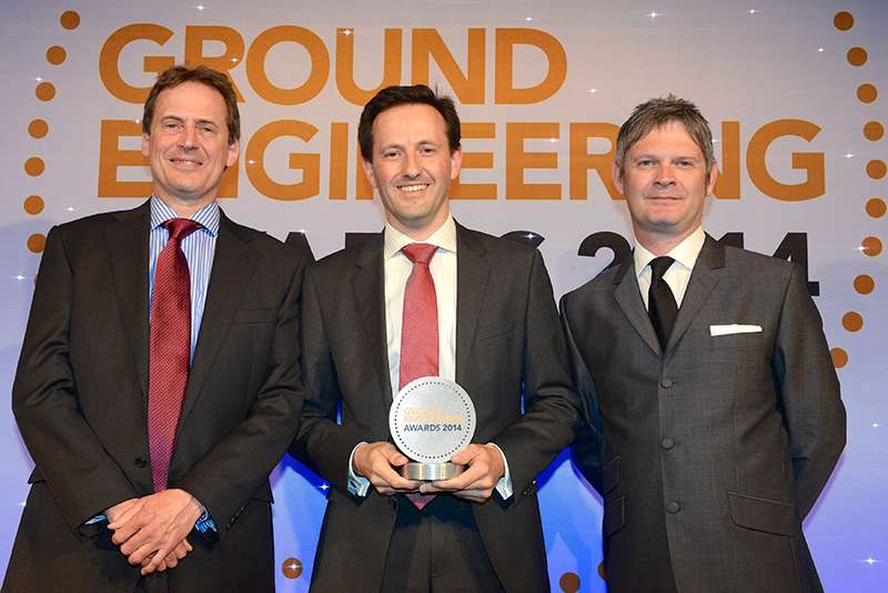 BAM Ritchies receive Ground Engineering Contractor of the Year Award