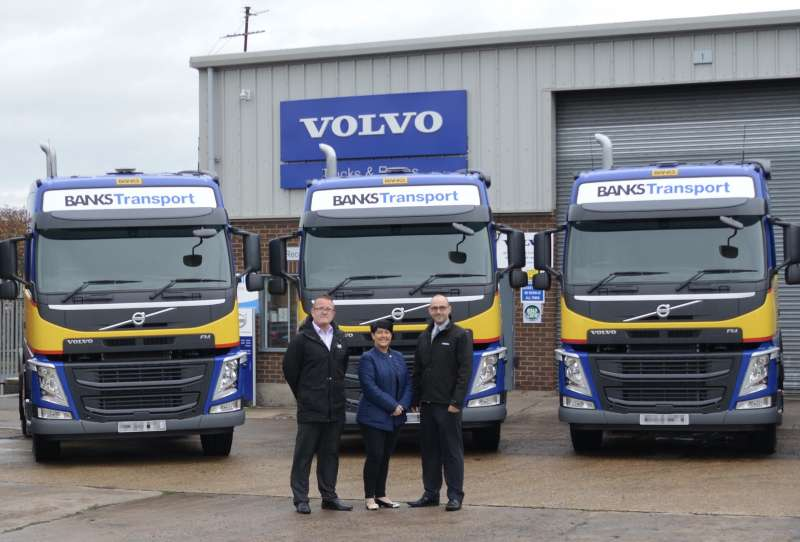 Banks Mining receive Volvo trucks