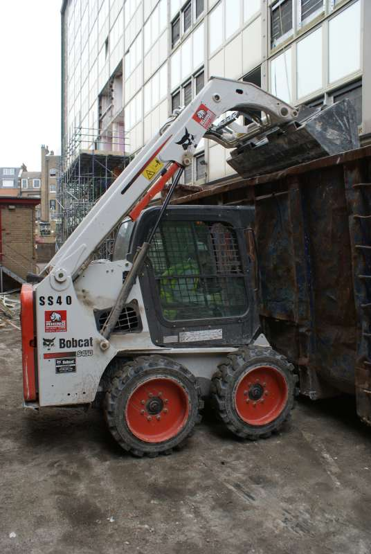 Rhino purchase first Bobcat S450 skid-steer loaders in the