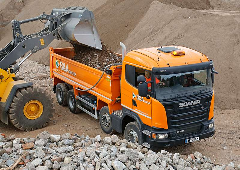 Quarrymaster heavy-duty tipper body