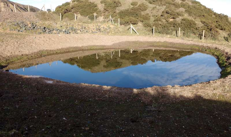 Clee Hill pond
