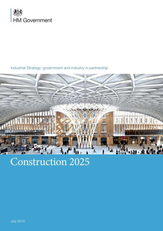 New industrial strategy for construction