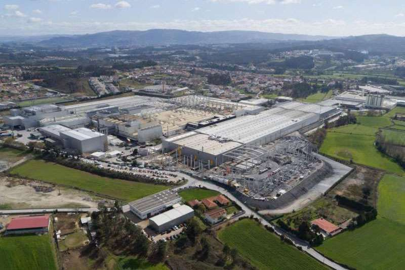 Continental's new production facilities in Lousado, Portugal