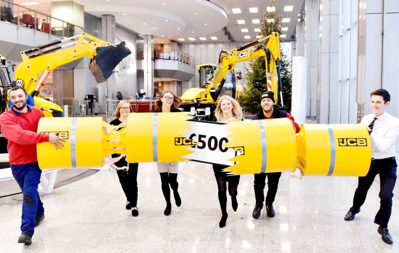 Cracker of a Christmas for JCB employees
