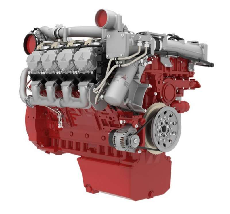 Deutz TCD 16.0 V8 engine