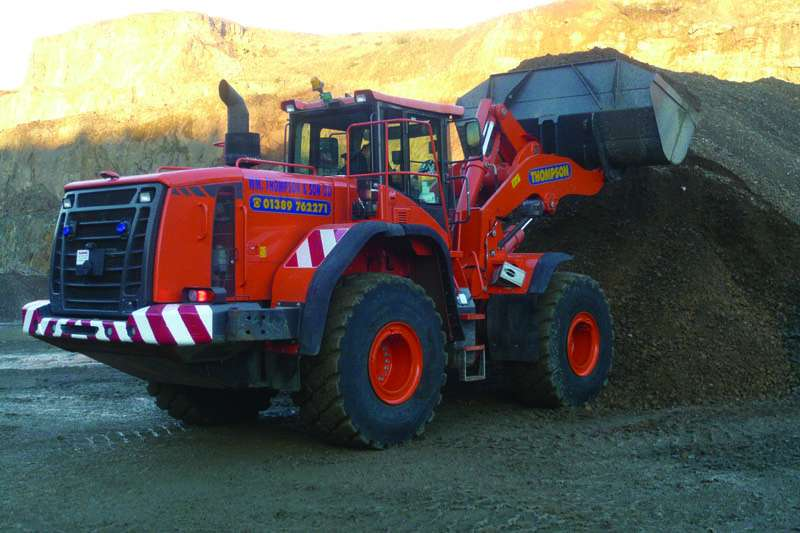 Doosan DL450-3 wheel loader