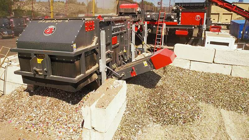 Ecohog waste-recycling equipment