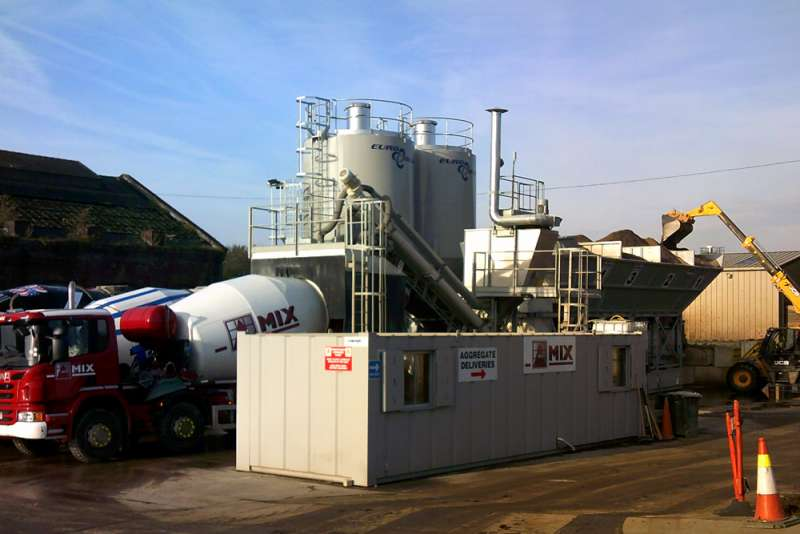 Euroblend Fast-Dry 70 batching plant